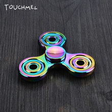 TOUCHMEL Fidget Spinner Hand Spiner Metal Fidget Toy Tri-spinner