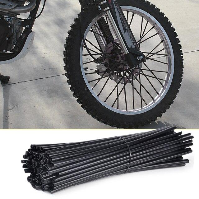 Dwcx 72pcs Wheel Spoke Wraps Rim Covers Skins Fit For Harley