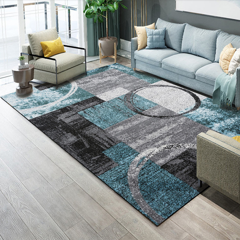 Abstract Carpet Living Room Geometric Carpet Bedroom Sofa Coffee Table Rug Home/Office Floor Mat Decorative Study Room Area Rugs