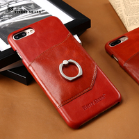 Floveme 7 7plus Genuine Leather Case For Apple Iphone 7 7plus Mobile Phone Ultra Thin Slim