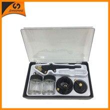 SAT5115 Airbrush Kits Nozzle 0.8mm Air Brush Pressure Airbrush Tools