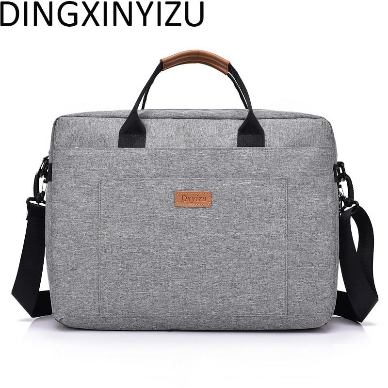 Dingxinyizu Для мужчин сумки на плечо ноутбук мужской Портфели Для мужчин сумка Кроссбоди мешок Оксфорд Для женщин Сумки Повседневное путешеств...