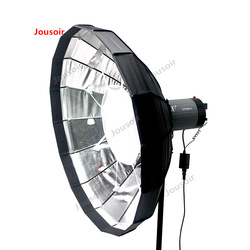 60 cm radar cover folding softbox With a glance butterfly Grille portable package reflectors silver white  CD50 T03