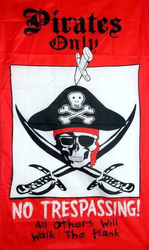 Pirate Flag 3X5 ft custom Skull and Cross Crossbones Jolly Roger FP9 ...