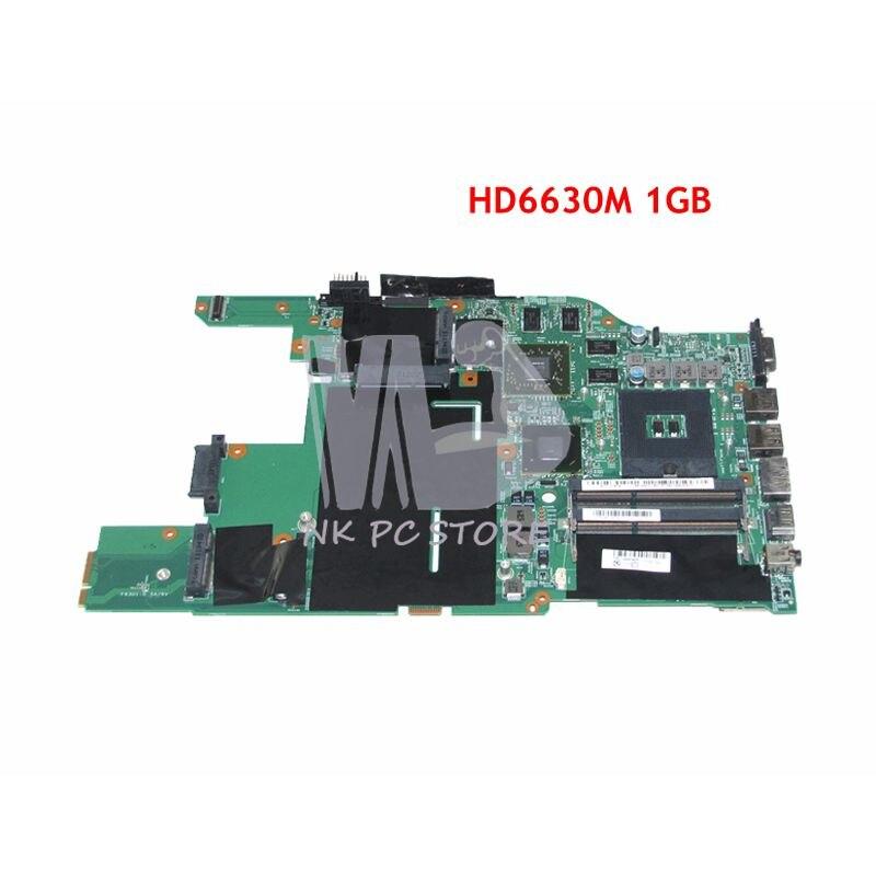 NOKOTION nouveau pour Lenovo E520 carte mère d'ordinateur portable 04W0466 04W0724 HM65 DDR3 HD6630M carte vidéo 1 GB