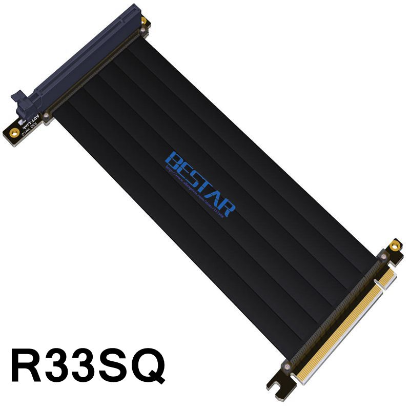 Gen3.0 PCI-E 16x To 16x Riser Extender Cable For GIGABYTE AORUS AC300W ITX Motherboard PCIe x16 Elbow Design customized