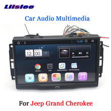 Liislee Car Android 6.0 GPS Navigation Multimedia For JEEP Grand Cherokee Radio BT HD Screen Audio Video No CD DVD Player System(China)