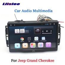 Liislee автомобильный Android 6,0 gps навигация Мультимедиа для JEEP Grand Cherokee Радио BT HD экран Аудио Видео Без CD DVD плеер системы