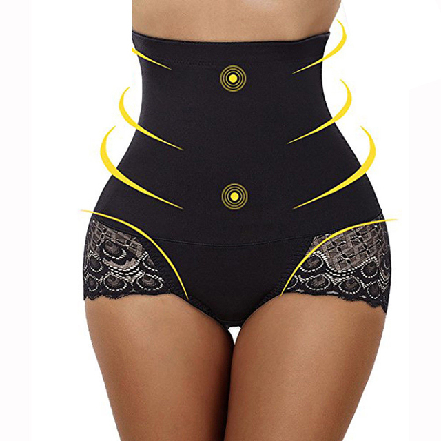 f5739eefc8 Ladies Body Shaper Slimming Tummy Control High Waist Shapewear Pants  Seamless Underwear Women Control Panties Bodysuit Clothing