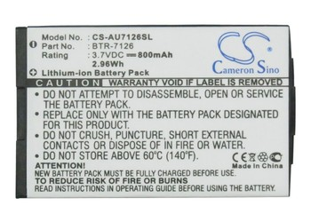 Batería de 800mAh de alta calidad para metrocks/UTStarcom CDM-7126, CDM-7126m