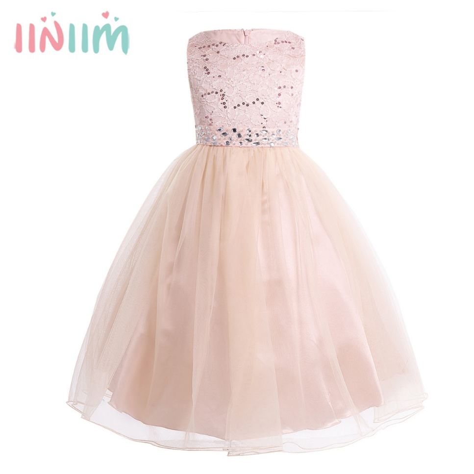 2-14 Years Hot Sale Toddle Costume Tutu Baby Girls Flower Mesh Lace Dress Birthday Party Princess Dress Kids Communion Dresses hot sale fashion baby girls dress small jacket flower lace tutu princess party dress pink white red purple children clothing