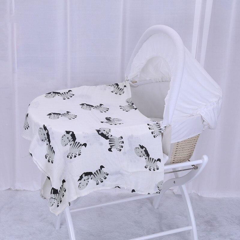 infantil musselina melhor algodão orgânico cama recém-nascido