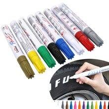 1 шт. Набор цветных ручек водонепроницаемый резиновый маркер с перманентной краской ручка для автомобильных шин протектор окружающей среды шины маркер для рисования