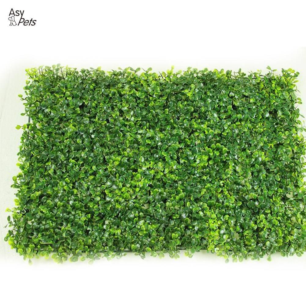 AsyPets Artificial Plastic Milan Grass Plants Wall Lawns as Hanging Greenery Decoration-25