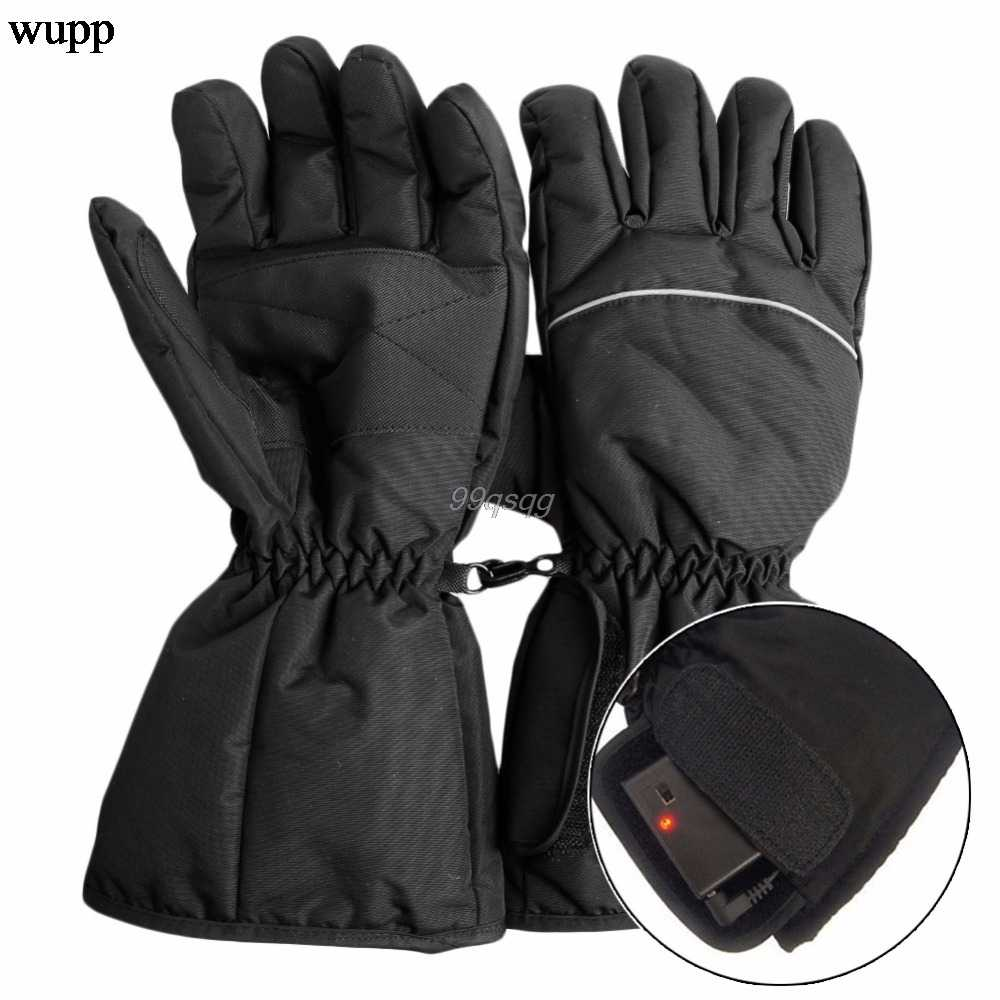 Waterproof Heated Gloves Battery Powered For Motorcycle Hunting Winter Warmer Drop shipping