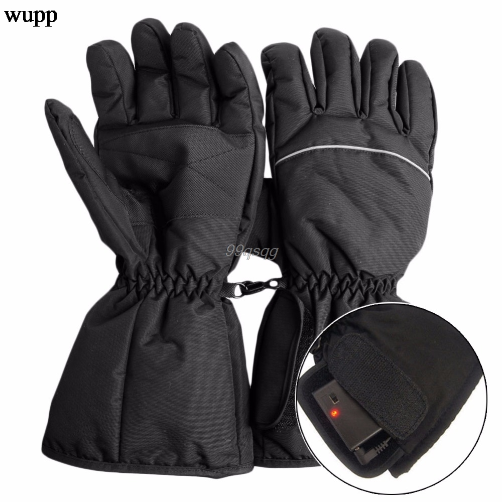 все цены на Waterproof Heated Gloves Battery Powered For Motorcycle Hunting Winter Warmer Drop shipping онлайн