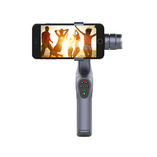 ASHANKS GB2 2 Axis Handheld Gimbal Brushless Stabilizer Bluetooth Control Smartphone Video Stabilization for iPhone Galaxy Note