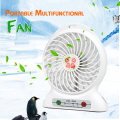 Portable Mini USB Fan Rechargeable Battery Operated / LED Lamp for Indoor/Outdoor/ Kids Table Mini Fan