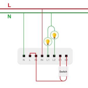 Image 4 - Aqara Relay Two way Control Module Zigbee Wireless Relay Controller 2 Channels Smart Light Control Switch Work For Mijia Homekit