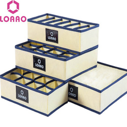 home socks box storage box bins underwear organizer box bra box necktie socks storage organizer