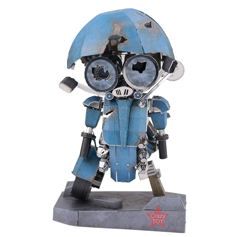 MU Sqweeks The Last Knight DIY 3D Metal Puzzle Assemble Model Kits Jigsaw Toys YM-N054-C