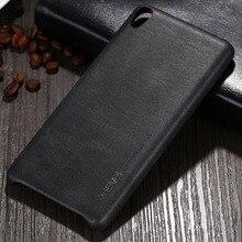 X-Уровень Новый Урожай Кожа Телефон Дело Для Sony Xperia Ультра тонкий Защитная Крышка Для Sony XA XA