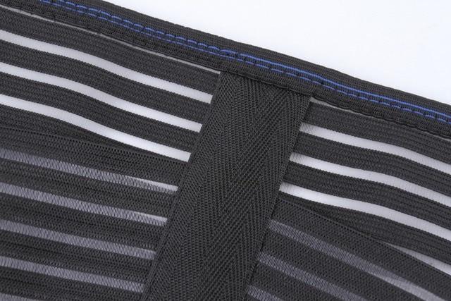 PRAYGER New Fit Body Girdle Men Slimming Waist Shaper Belt Tummy Trimmer Waist Cinchers Breathable  Control Belly Band 5