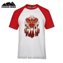 f0446cb5 Faction Tees Costume Native American Beadwork Cardinal Mandala Short Sleeve  Shirts Male O-neck T