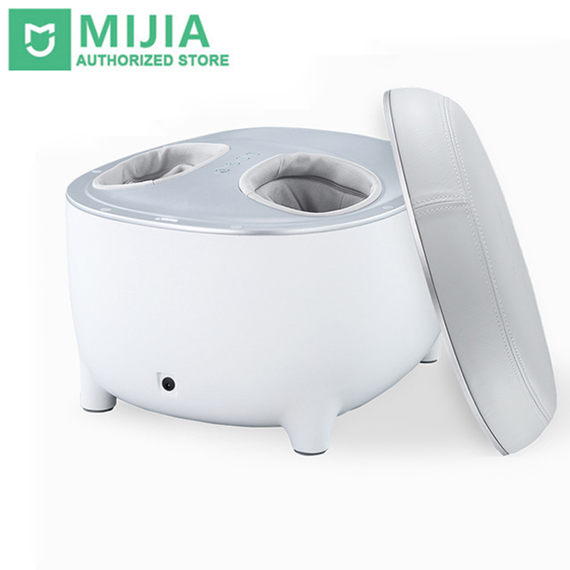 Xiaomi Momoda Small Stool Foot Massager Heated Stool Massager 2 In 1 Three-Step Foot Massage Hot Pillow-Compress Warms Feet