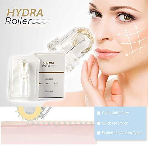 Hydra Roller Titanium Needles 64 Pin Derma Roller Stamp  Skin Care System  for Body/Face/Acne//Burn Scars/Wrinkles/Stretch Marks