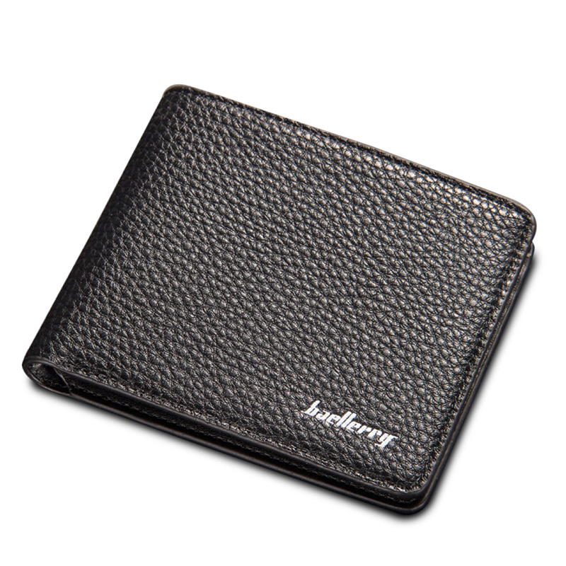 New Mens Brown Coffee Soft Litchi Stria PU Leather Bifold Clutch Coin Pouch ID Credit Card Zipper Pocket Wallet Purse hatamoto 3012 red нож универсальный hatamoto color 150 мм сталь 1к6 рукоять пластик