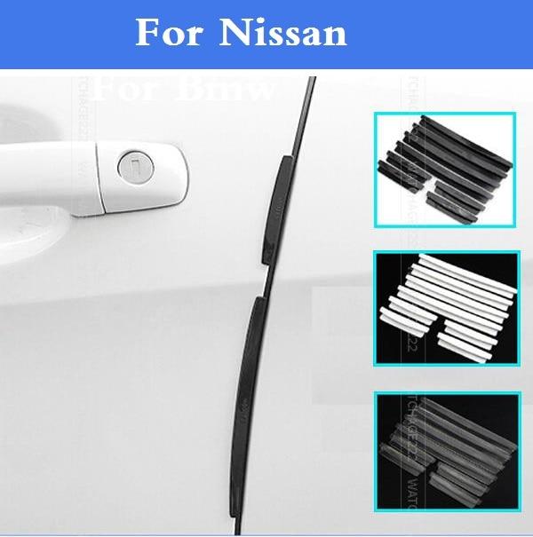 New Car Door Edge Guards Trim Molding Scratch Protector For Nissan 350Z 370Z AD Almera Classic Altima Armada Avenir Juke Nismo