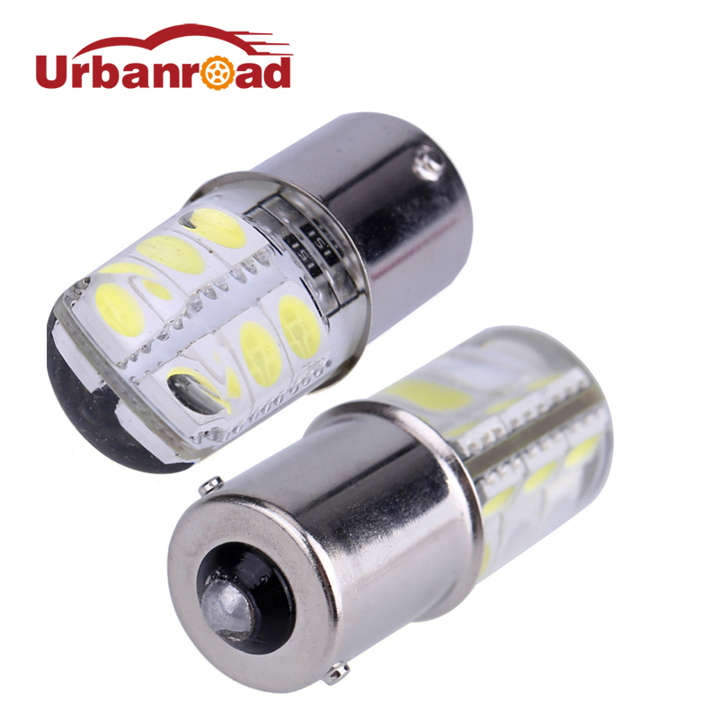 2pcs 12v 1156 p21w ba15s 5050 smd white led 1156 ba15s led lamp p21w Brake Turn Signal Light Bulb Crystal Lamps hngchoige 1156 ba15s p21w 13 led 5050 smd car tail brake signal light lamp bulb white