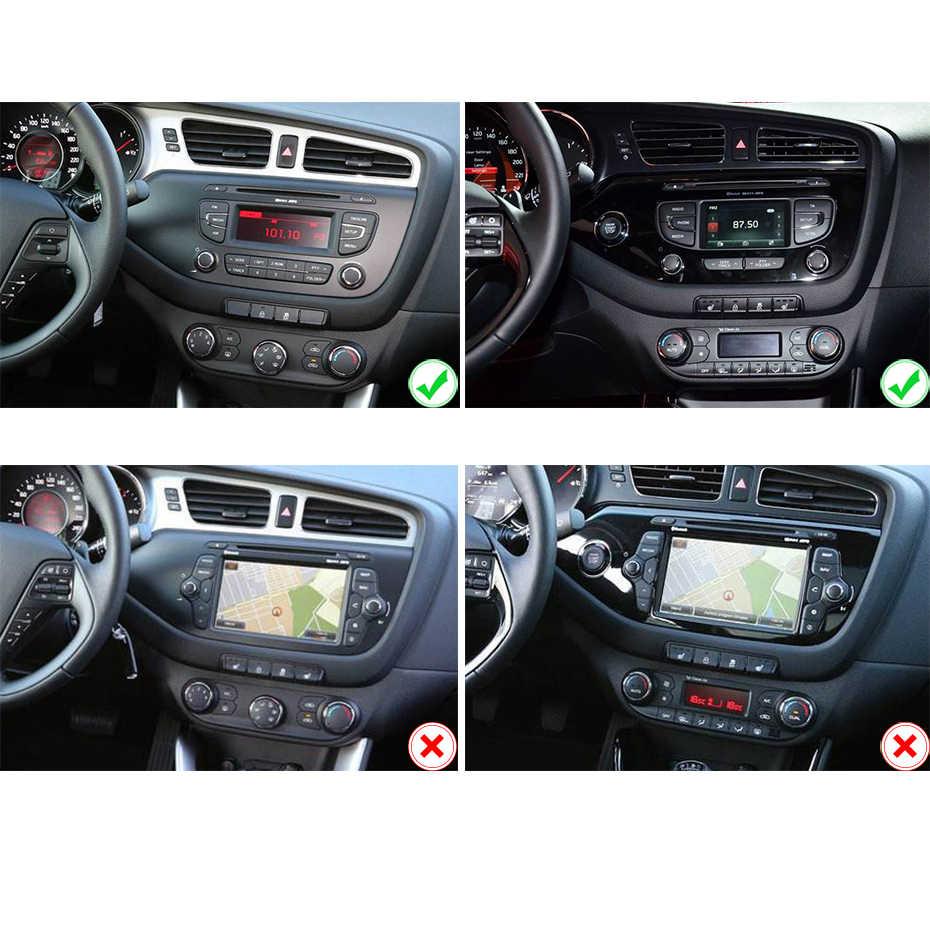 DSP Android 9,0 IPS 2.5D pantalla 4G RAM 64G ROM GPS Radio para KIA Ceed 2013 de 2014 de 2015 navegación estéreo de Audio de la unidad No DVD