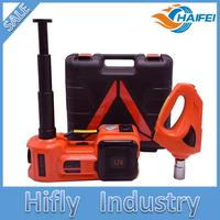 12V DC 3 0T 6600lb Electric Hydraulic Floor Jack Tire Inflator Pump And LED Flashlight 3