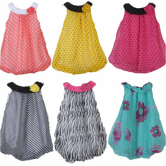 5a2585450edc 2014 new fashion leopard and dot spring summer baby girls dress newborn  cute chiffon infant baby girls 0-3-6-9 months