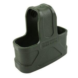 Image 4 - VULPO 10pcs/NATO 5.56 Rubber Cage Loops Fast Mag For M4/M16 Magazine Assist BK/DE/Green/Gary