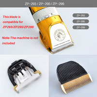 Original Pet Dog Ceramic Hair Grooming Trimmer Clipper Blade Head Compatible For ZP 293 ZP 295