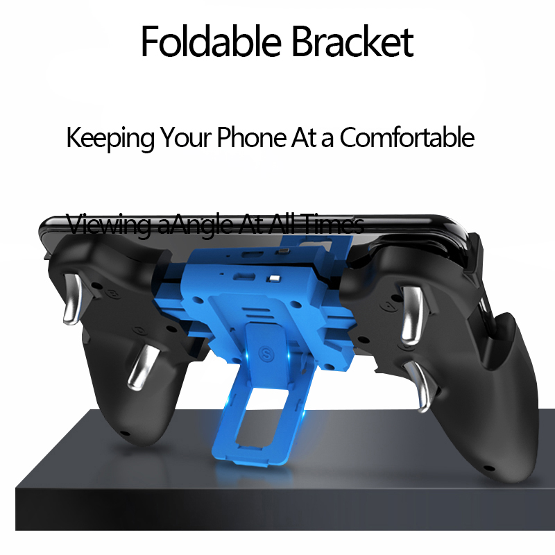 Image 5 - Bluetooth Game Pubg Trigger Controller Gamepad Phone Mobile Triggers Joystick For iphone Wireless Smartphone shooting Gaming-in Gamepads from Consumer Electronics