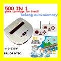 HAMY TV Jugador Del Juego y dendy de videojuegos consola + 53 juegos clásicos incluyen 500 juegos play card + PAL o NTSC puede elegir + 110 v-220 v