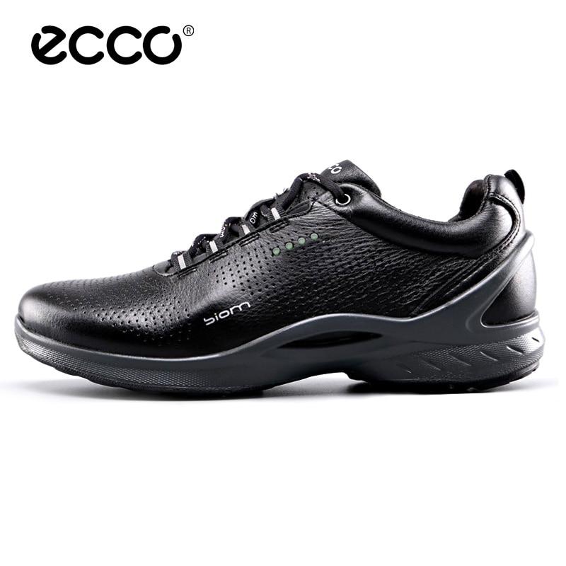 ECCO Men's Shoes Summer Bionm Outdoor Black Walking Shoes Breathable Comfortable Casual Men's Sports Shoes 837514