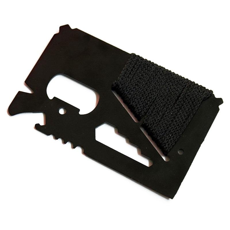 Tarjeta de crédito EDC Cuchillo de caza de bolsillo multifuncional - Herramientas manuales - foto 6
