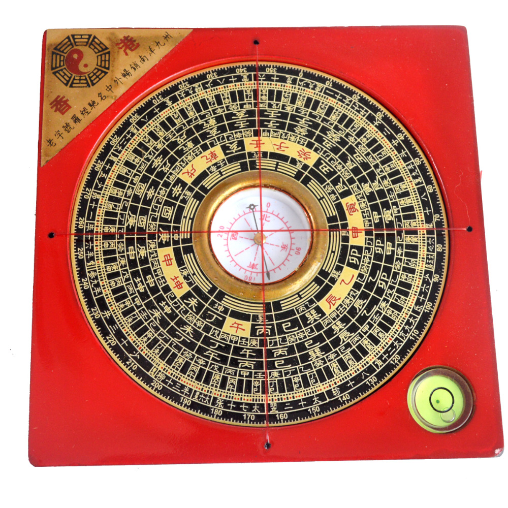 4 3 inch feng shui compass luo pan lou pan tool g7011 in figurines miniatures from home. Black Bedroom Furniture Sets. Home Design Ideas