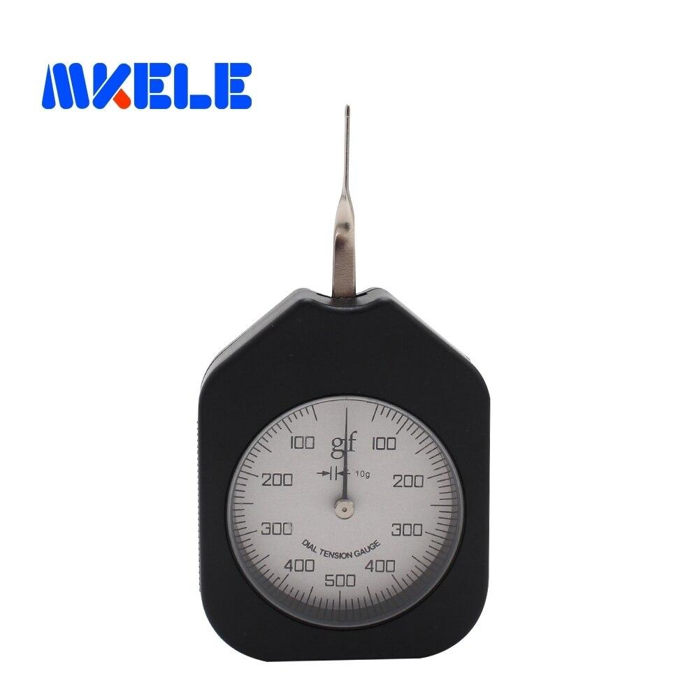Seg-500-1 500g Tensiometer Analog Zifferblatt Gauge Einzigen Zeiger Kraft Werkzeuge Spannung Meter Knitterfestigkeit