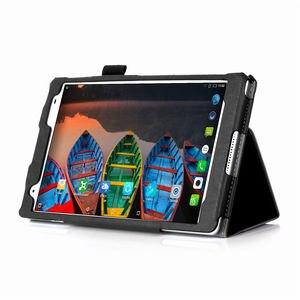 """Image 5 - Kılıf için Lenovo Tab 4 8 artı TB 8704X kılıfları TB 8704F TB 8704N 8 """"kapak Funda Tablet deri el tutucu standı kabuk + Film + kalem"""