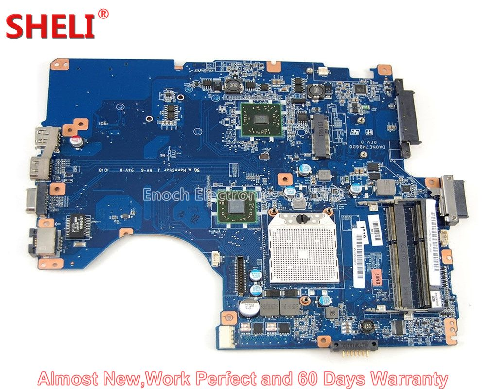 SHELI A1784741A Laptop Motherboard For SONY VAIO VPCEE Series VPCEE2E1E VPCEE31FX PCG-61611M DA0NE7MB6D0 System Board Main Board fancytrader 32 82cm soft lovely jumbo giant plush stuffed anpanman toy great gift for kids free shipping ft50630 page 7