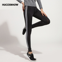 HUCOINHOW Women Quick Dry Yoga Leggings Sports Running Pants Ladies Bottoms Women's Clothing & Accessories
