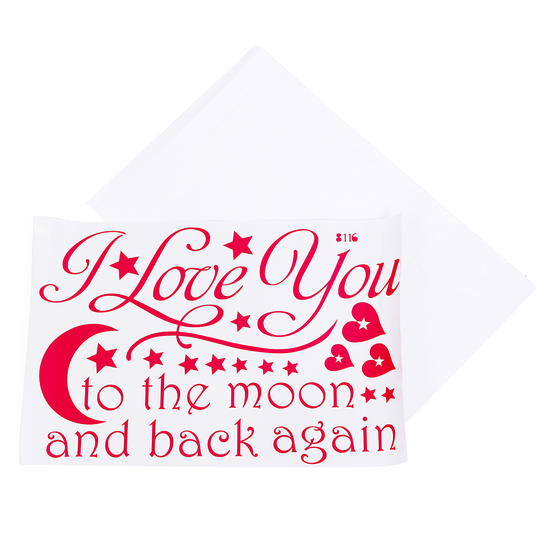 I Love You Quotes Wall Decals To The Moon And Back Wall Sayings Home