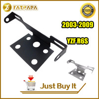 FATPAPA-Free Shipping Motorcycle Accessories YZF R6S Fender Eliminator License plate Bracket Fit For Yamaha YZF R6S 2003-2009