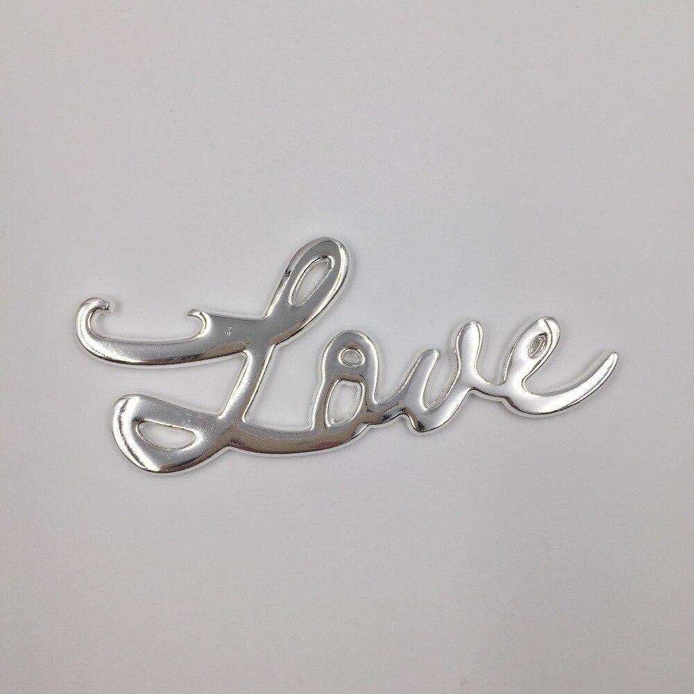 New Wedding favors Gold Silver LOVE Bottle Opener Wedding souvenir ...